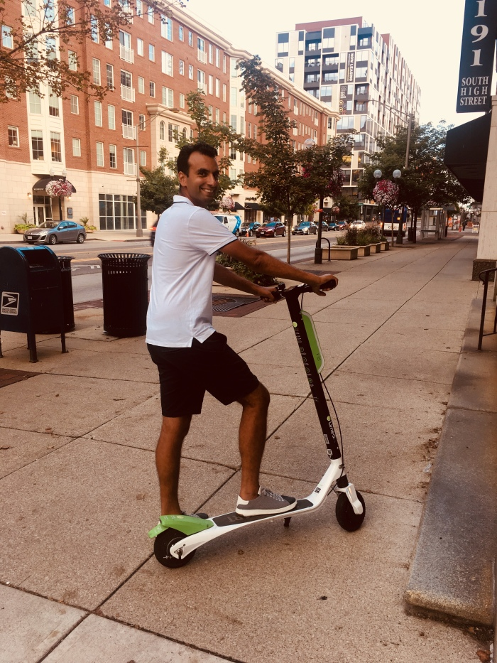 Walking is so last year, now we scooter – Curious in Columbus
